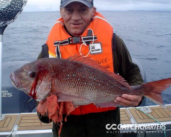 dad-and-his-snapper-fishing-charters-whitianga-nz